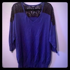 Torrid Lace Lightweight Sweater Size 3